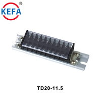 TD20-11.5 Pitch Din Rail Terminal Connector Blocks 600V 20A