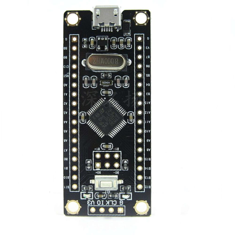 STM32F103C8T6 small system microcontroller core board STM32 development board learning board <strong>ARM</strong>