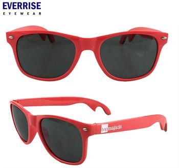 1bc3e9b70d5 2016 Free Sample Custom Logo Promotion Bottle Opener Sunglasses ...