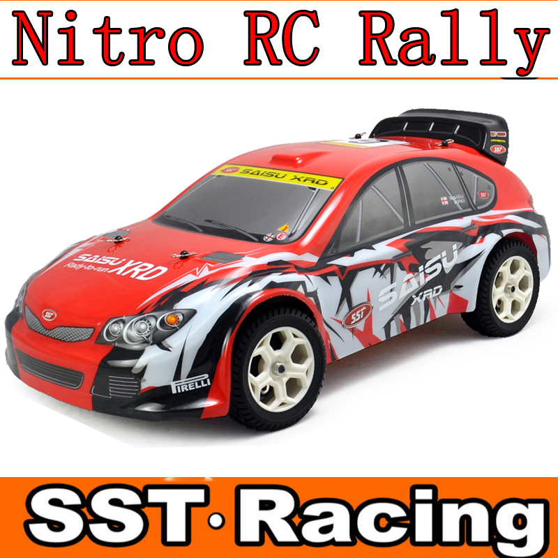 nitro rc car 1/10 4wd on road rc rally car from chinese factory saisu tech hpi racing