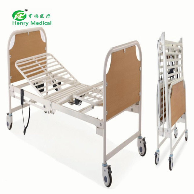 High quality machine grade Automatic folding electric nursing home bed Best price high