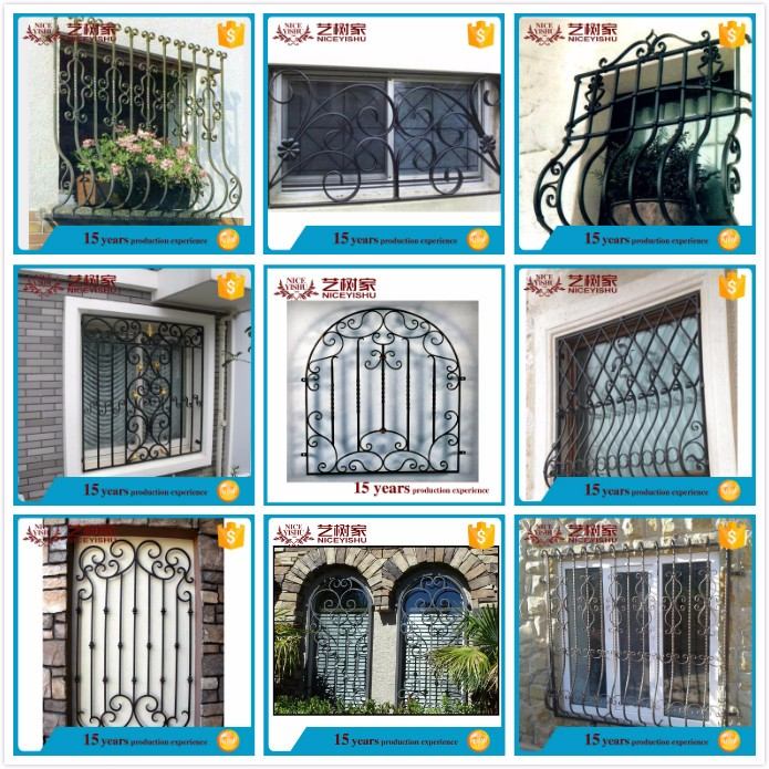 interior securtiy cheap house window grill design, simple steel window grill design, window grill design and gate