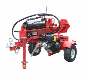 Gasoline 15HP Lifan Engine 50 Ton Wood Log Splitter