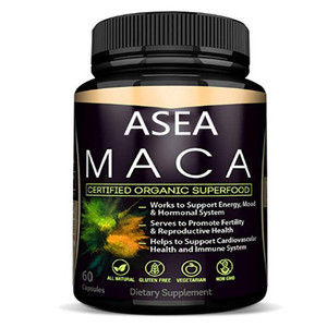 Pure black maca sex capsule for male long time sexual performance