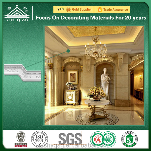 Top Quality Home Decoration Gypsum/Plaster Cornice Designs