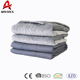 non-irritating PVC compound light grey weighted blanket for reduce anxiety