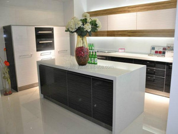 European style modern flat pack kitchen ready made for Flat pack kitchens