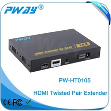 Pinwei PW-HT0105 looping HDMI 1X4 HDMI TV Splitter Audio Video AV Products Transmitter/Receiver Sender Via 50m Cable