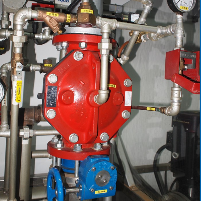 Tyco Deluge Valve Vs Preaction Valve For Fire Protection