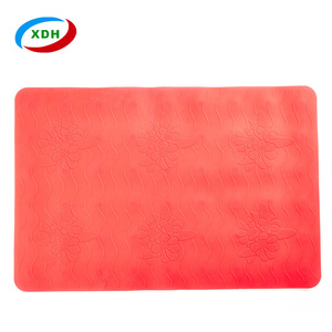 Hot Sale Cheap Non Slip Silicone Rubber Bath Tub Mat
