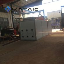 700kg/h microwave wood vacuum dryer export to Mexico
