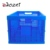 Food shipping folding plastic bread crate for factory using
