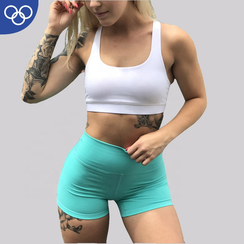 High Quality Spandex yoga suit 86%Nylon 14%Spandex Custom Women 2 piece yoga set Sports Wear фото