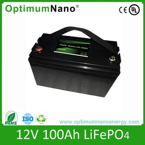 Group 31 lithium ion car battery 12v 100ah with OEM service
