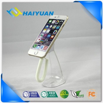 New Mobile phone Acrylic magnetic secure display holder