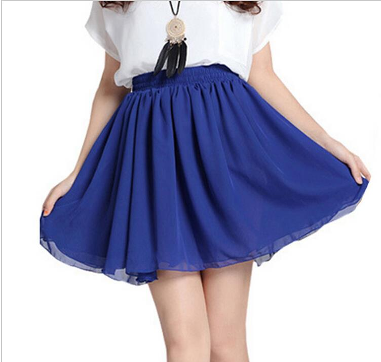 22a4fae8ea Get Quotations · one size Cute Casual Womens 5 Color 2015 Fashion Women  mini Skirts High Waist Short Skater