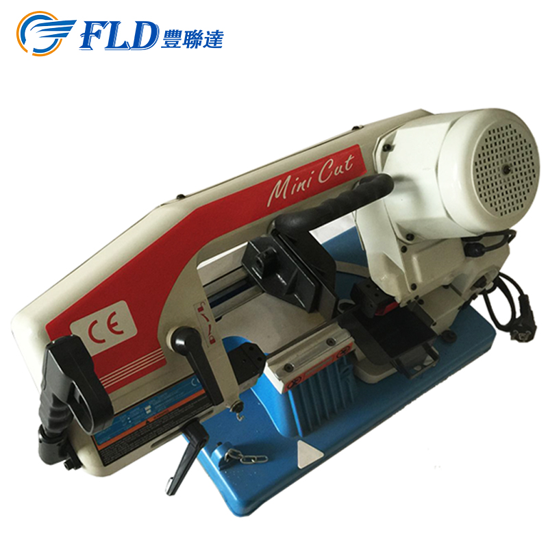 Quality Assured 50Hz 45m/min Blade Speed / 1/2HP Metal Band Saw used for Round /Flat Metal Cutting