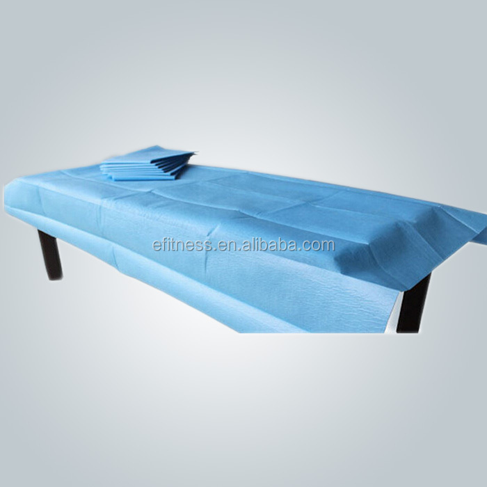 Disposable bed sheet roll for spa hotel or hospital/examination bed paper roll