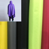 Eco-friendly Waterproof raincoat fabric, polyester peach skin with PVC coated