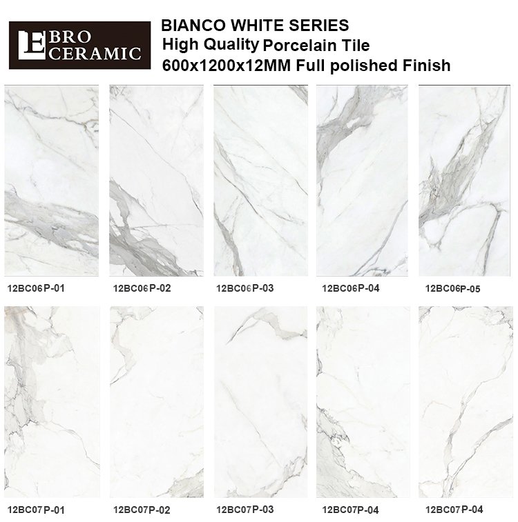 Ebro Ceramic Supply Size Marble Tiles Flooring Polished Porcelain Price Design12bc06p