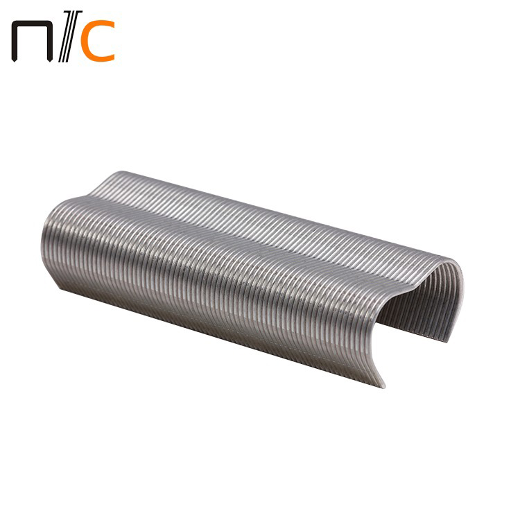 500 x 15mm Galvanised U Nails Staples fence post Chicken Wire Mesh fence nail