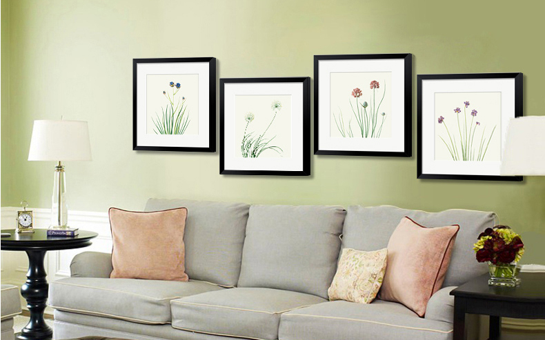 Wholesale Buddha Canvas Wall Art Zen Stone Orchid Flower Painting