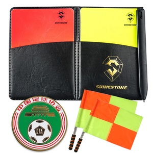 Referee cards Football Red and Yellow Cards Soccer Warning Cards and Wallet