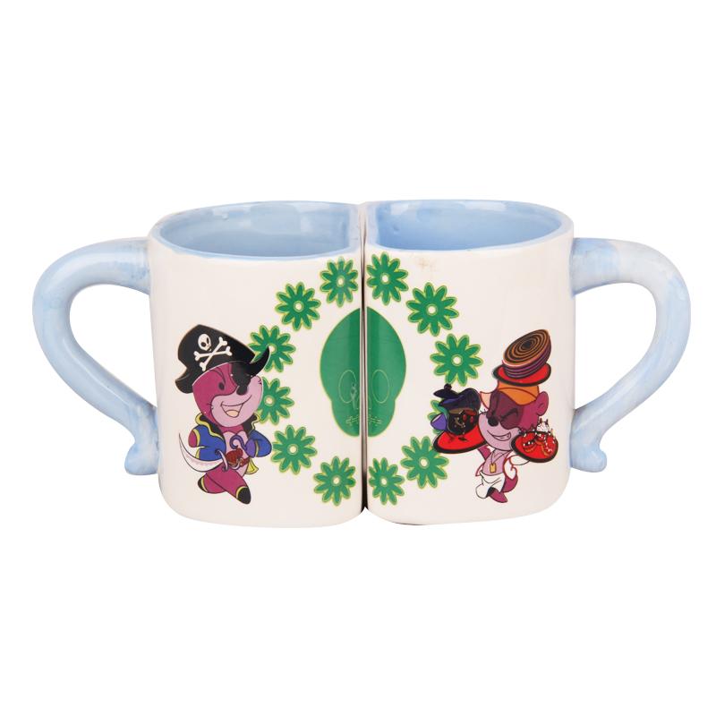funny Heart Dolomite Coffee Shaped Handle Mug Ceramic Funny Mug Handle With Buy Big ceramic D2IEe9WHY