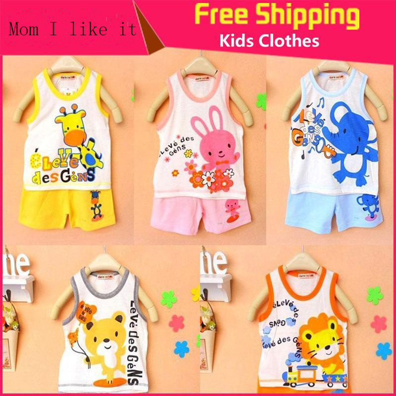 Brand New Children s Set Baby Kid s t shirts For Girls Boys Clothes t shirt