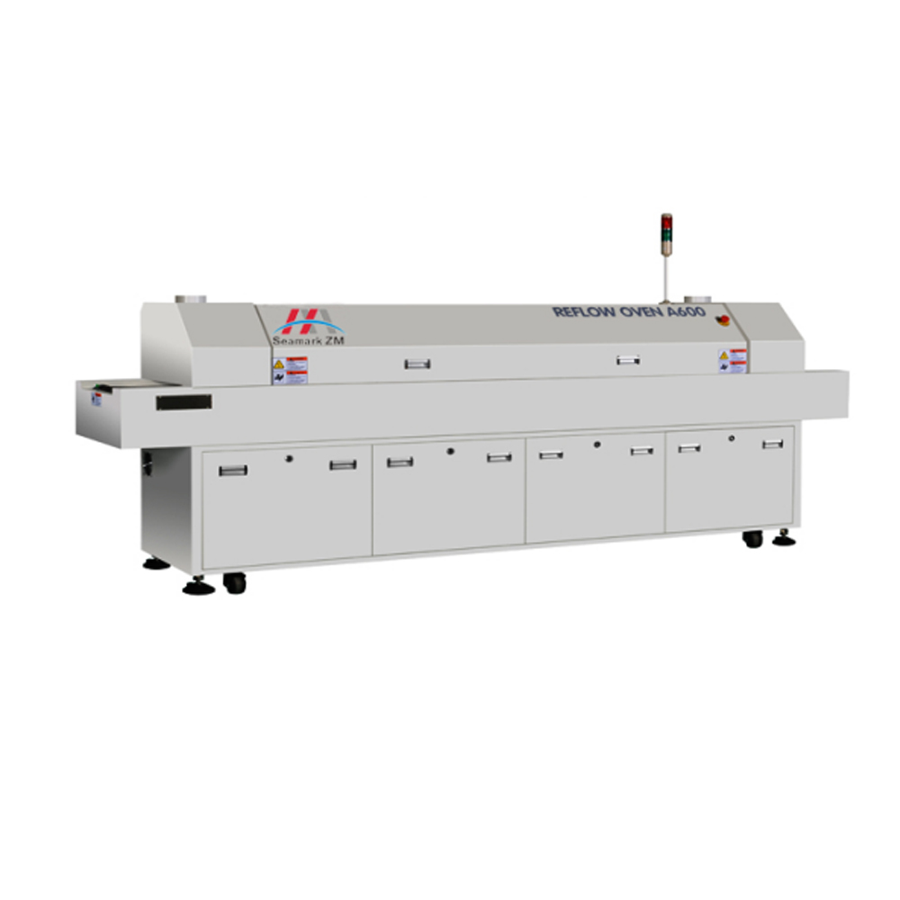 PCB apparatuur reflow oven A800, smt reflow oven, smd reflow solderen