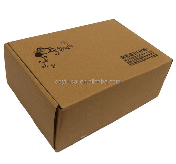 shoes Corrugated paper shipping boxes