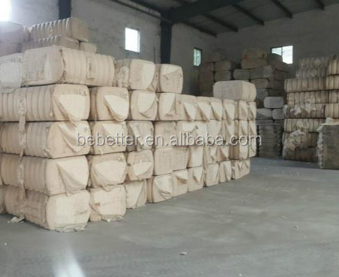 100% cotton comber noil cotton waste cotton