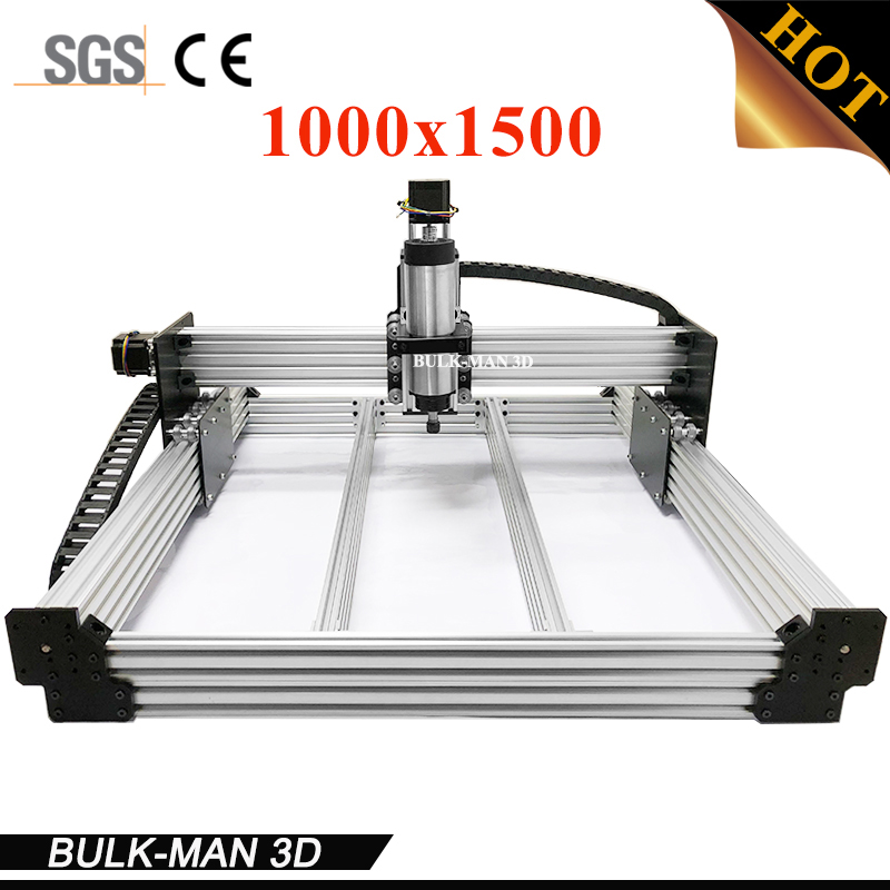 WorkBee CNC Router Machine Complete Kit 1000x1500mm Wood Working CNC Engraving Milling Machine DIY CNC Metal Carving Cutter