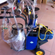 removable milking machine for cow sheep or goat