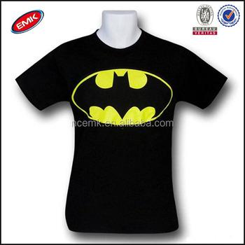 Men Black Custom Tshirt Printing Crew Neck Black T-shirt Oem - Buy ...