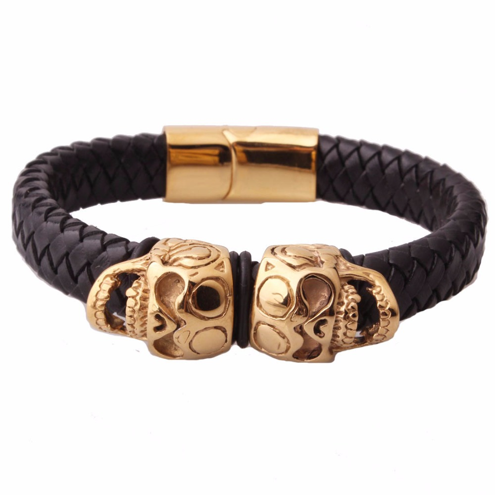 over etc mens bracelet fade i queen quality gold men plated dragon brass s esther never high