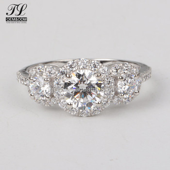Multi Material Optional Diamond Wedding And Engagement Italian Pure Gold Rings