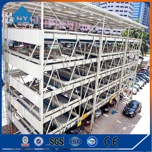 Car Shed Design Prefab Steel Structure for Car Parking