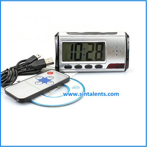 Wireless WIFI 1080P Desk Radio Camera Clock