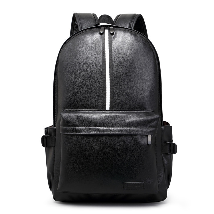 Luggage & Bags 2019new Fashion Trendmen Casual Brown Black Backpacks Students School Bag Pack Leather Pu Laptop Bags Modern Techniques