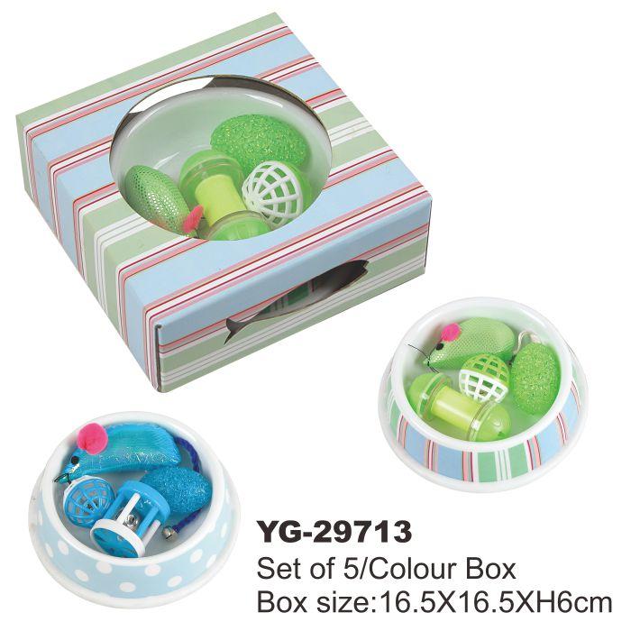 Petstar Renkli Karikatür ev hayvanı ürünü kedi oyun oyuncak oyuncak kedi Kedi oyuncak seti