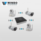4 channel nvr kit NVR: Hi 3520D IP Camera:720P