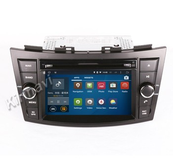 Kirinavi WC-SS7669 android 5.1 car audio for suzuki swift 2012-2016 car dvd gps navigation system wifi 3g playstore