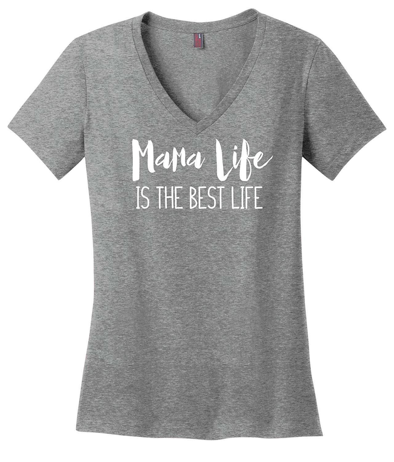 Simply Sage Market Mama Life is The Best Life- Short Sleeve Soft Comfortable Women's Graphic Tee