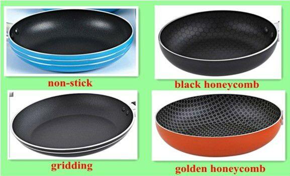 Essencial Non Stick Fry Pan dengan Keramik Marble Coating