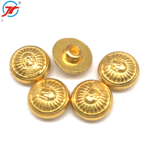 Wholesale custom metal decorative snap rivets jeans gold buttons wholesales decorative metal zinc alloy snap rivet