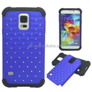 Crystal FullStar Hybrid Mobile Phone Case Cover For SAMSUNG S5 Mini Accessories