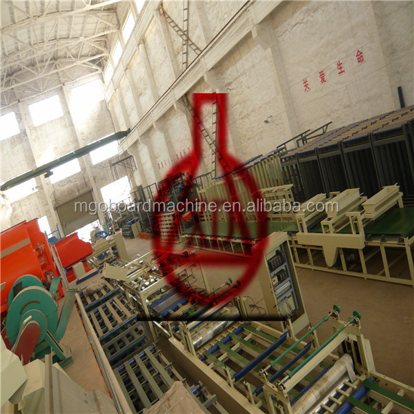 cheapest ceiling to install mgo board machine
