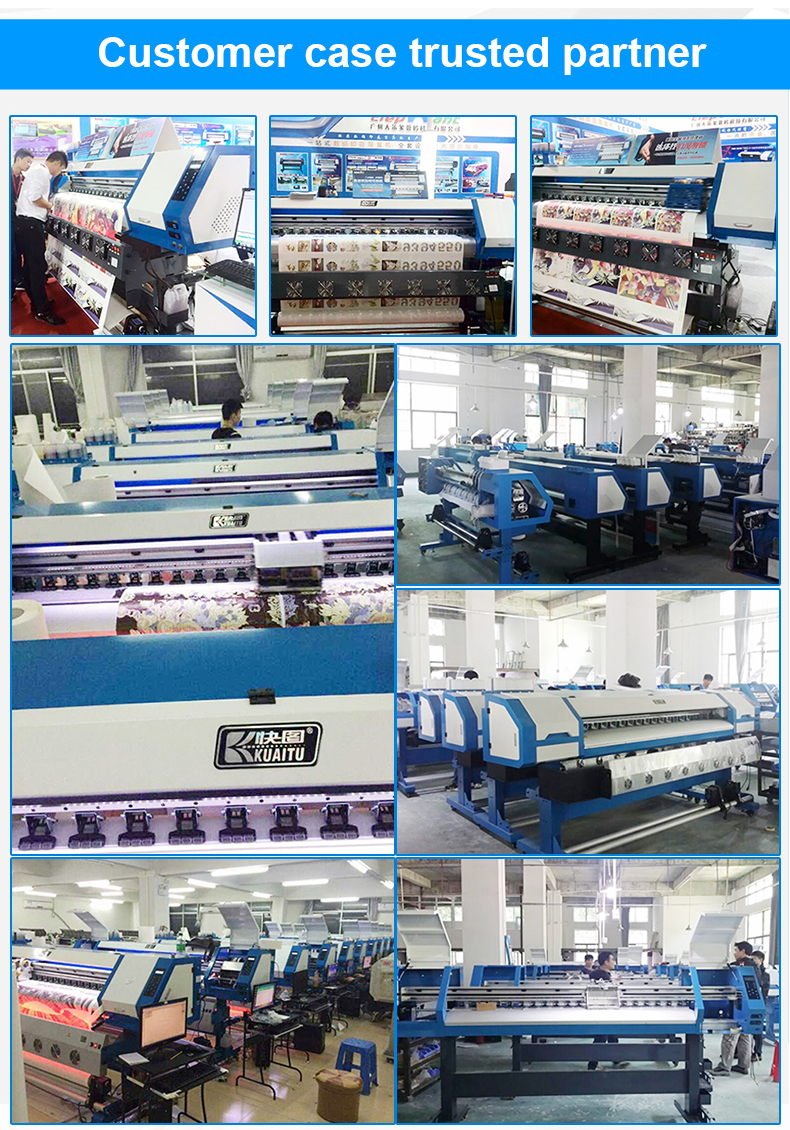 Wide format sublimation paper fabric printer 44 inch dye sublimation printer for fabric