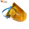 Cheap and simple Disposable Face Guard Plastic transparent welding face shield Visor